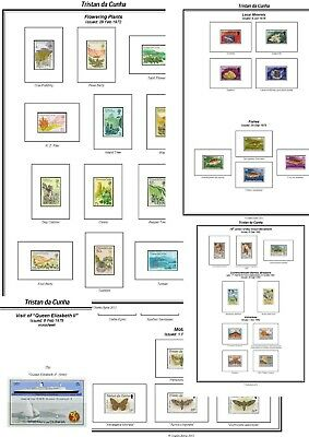 Print your own Tristan da Cunha Stamp Album, fully illustrated and annotated