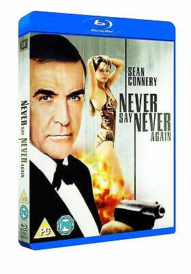 Never Say Never Again - Oop Blu-Ray - New Sealed** Free Post**