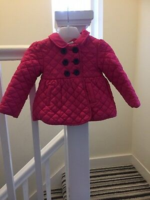 Lovely Pink Girls  Jacket Size 12/18 Months
