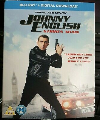 Johnny English Strikes Again (with Digital Download) [Blu-ray] brand new sealed