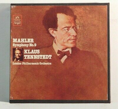 Mahler Symphony No. 9 & 10 Klaus Tennstedt Conducts London Reel Tape 4Tr 7.5Ips
