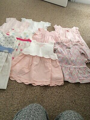 baby girls clothes 6-12 months bundle