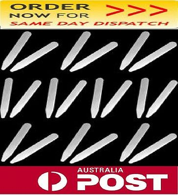 26 Piece-Stainless Steel Metal Collar Stays / Collar Stay- From *AUSTRALIA*
