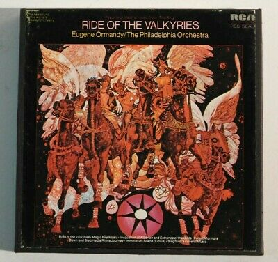 Ride Of The Valkyries Eugene Ormandy Conducts Rca Red Seal Reel Tape 4Tr 7.5Ips