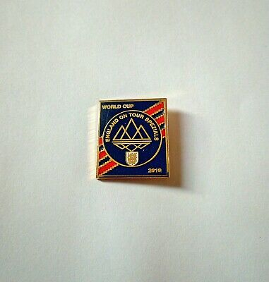 Rare Adidas Spezial badge Originals England on tour Pin Badge