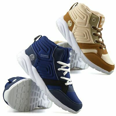 Boys Kids Childrens Casual School Sport Running Trainers Ankle Boots Shoes Size