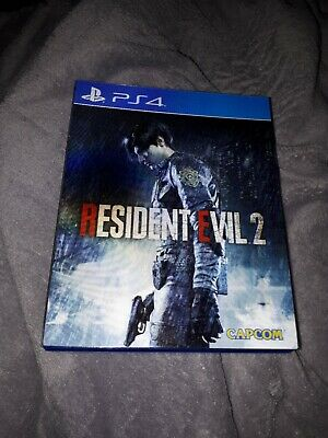 Resident Evil 2 Remake [Limited Lenticular (3D Cover) uncut Edition] (PS4)