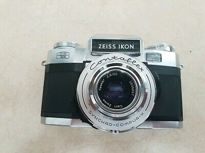 Zeiss Ikon Contaflex with case Vintage Camera