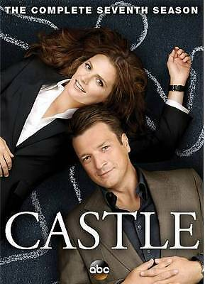 Castle: The Complete Seventh Season 7 (DVD, 2015, 5-Disc Set) BRAND NEW