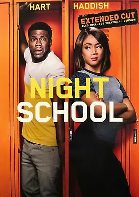 Night School Extended Cut(Usa Seller New 2018 Release, Kevin Hart) Ships Free