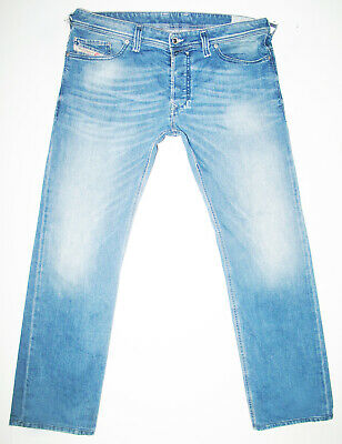 84cd1723 *HOT AUTHENTIC Men DIESEL @ SAFADO 850W Slim STRAIGHT LEG STRETCH Jeans 34  x 29