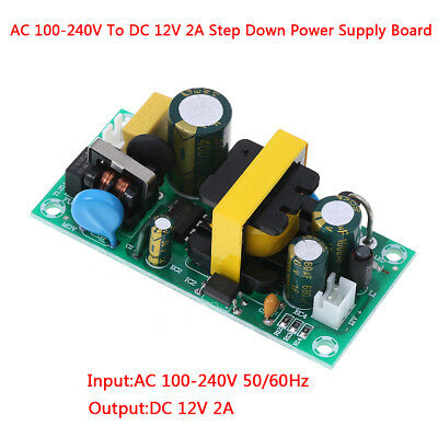 AC-DC 100-240V to 12V 2A converter isolated step down power supply board OD