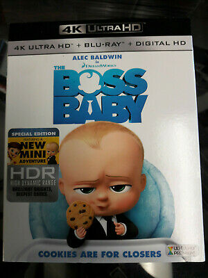 The Boss Baby 4K Ultra HD + Blu-Ray USED No Digital