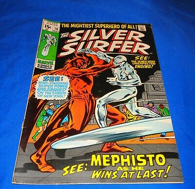 Silver Surfer #16 1970 Mephisto Nice Take a LOOK !!!