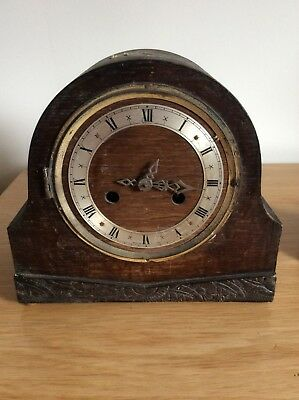 Vintage Enfield Mantel Clock non working for spares/repair