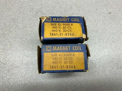 Lot Of 2 New In Box Square D Coil 1861-S1-R36A