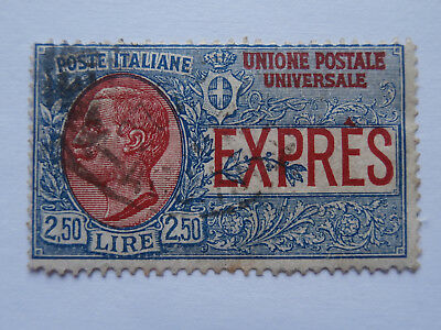 Italy stamp 1922? Special Delivery L2-50 used