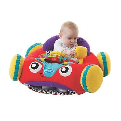 Playgro Music Sound & Lights Plush Toy Car Imaginative Play Baby Infant Toddler