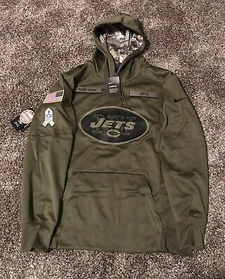 cheap for discount 3a560 ad912 2018 NIKE NEW York NY Jets Men's Salute to Service ...