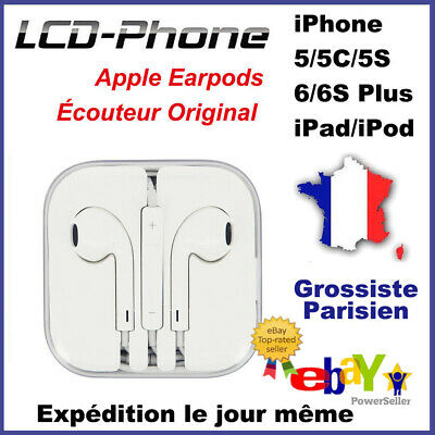 100% Original Apple Kit Pieton Main Libre Écouteur Oreillette Iphone 5 6 S Ipad