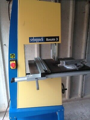 scheppach basato3 bandsaw complete with spare blade and mitre fence