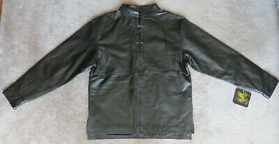 Leather Shirt Men's M 44 Inch Chest NEW