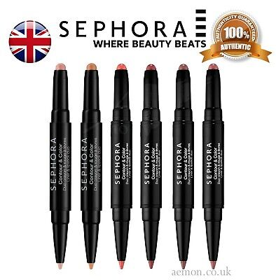 SEPHORA Contour & Color Liner and Lipstick Duo 6 colours ORIGINAL
