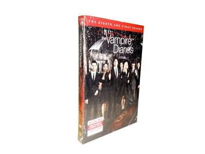 The Vampire Diaries: The Eighth and Final Season 8 (DVD, 2017)