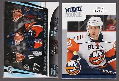 Two 2009-10 John Tavares Rookies Young Guns Cl & Victory