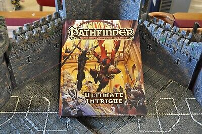 Pathfinder Roleplaying Game Ultimate Intrigue hardcover