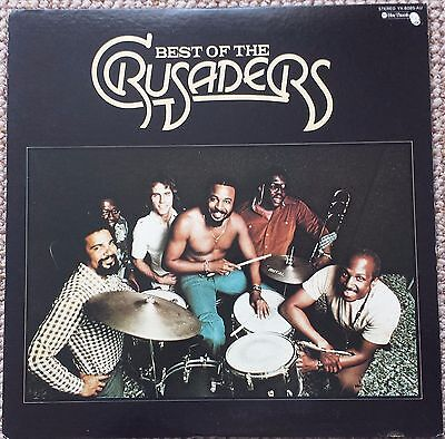 The Crusaders....The Best Of  - Sought After Very Rare Japan 1977 Vinyl Album