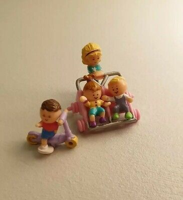 Vintage polly pocket strollin surprise complete
