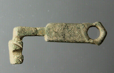 Small key, jewelry case, Bronze, Roman Imperial, 1st - 3rd century AD