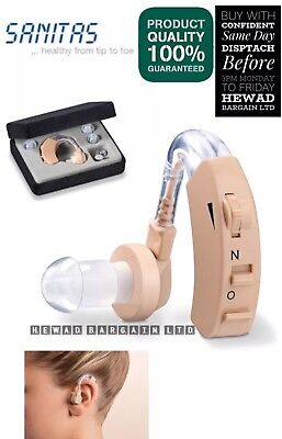 Sanitas Hearing Amplifier Made In Germany ( Quality Guaranteed )