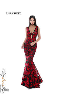 9e0601b808f Tarik Ediz 50502 Evening Dress ~LOWEST PRICE GUARANTEED~ NEW Authentic Gown
