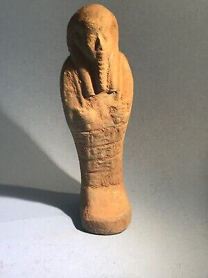 Large Rare Ancient Egyptian Faience Shabti
