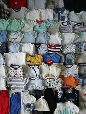 Massive Baby Boys Clothes Bundle 0 - 3 Months/Over 100 Items