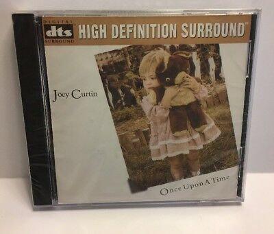 JOEY CURTIN - Once Upon A Time - DTS High Definition Surround CD DVD AUDIO NEW
