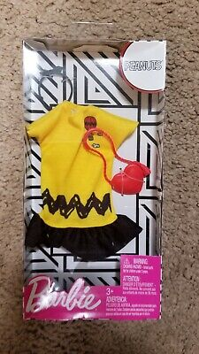 Barbie Doll Velvet-like Dress, Star Top, & Shoes Fashion Outfit Giftset Pieces