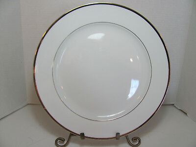 Centurion Collection Fine China Pure Gold Set Of 4 Dinner Plates