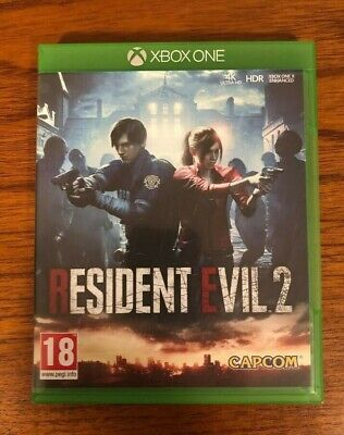 Resident Evil 2. 2019 Remake. Xbox One. Perfect Condition.
