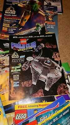 Lego Magazine Job Lot Including Star Wars And Harry Potter