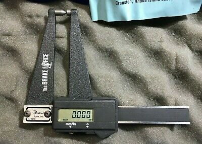 Central Tools 6459 The Brake Force Rotor Gage Digital Caliper w/Instr & tools