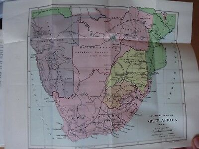 Impressions Of South Africa By Bryce 3 Col Maps Transvaal Convention - 1900