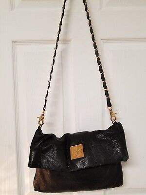 a8d1f303cfb TORY BURCH Leather black Bag