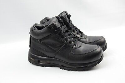 sports shoes 3af3d 1af5c Nike AIR MAX GOADOME Boots Youth Kids (GS) 311567-001 Black Leather Size