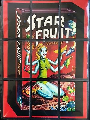 LOST WACKY PACKAGES SERIES 4 Puzzle Checklist Complete Set SAUNDERS STAR FRUIT