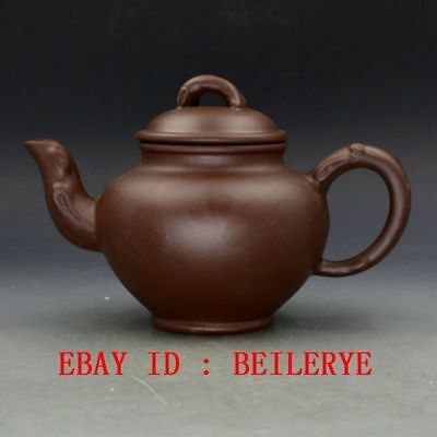 Chinese Yixing ZIsha Hand Carved Tree Stump Teapot BY17