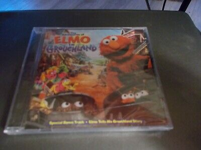 The Adventures of Elmo in Grouchland by Sesame Street (CD, Sep-1999, Sony Music