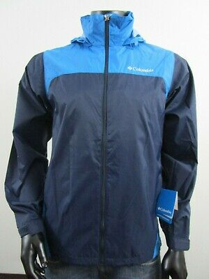 21caed9ba Mens Columbia S-M-XL-XXL Raincreek Falls Rain Waterproof Hooded Jacket -  Navy